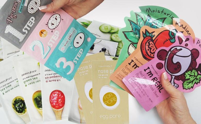 korean skincare face masks