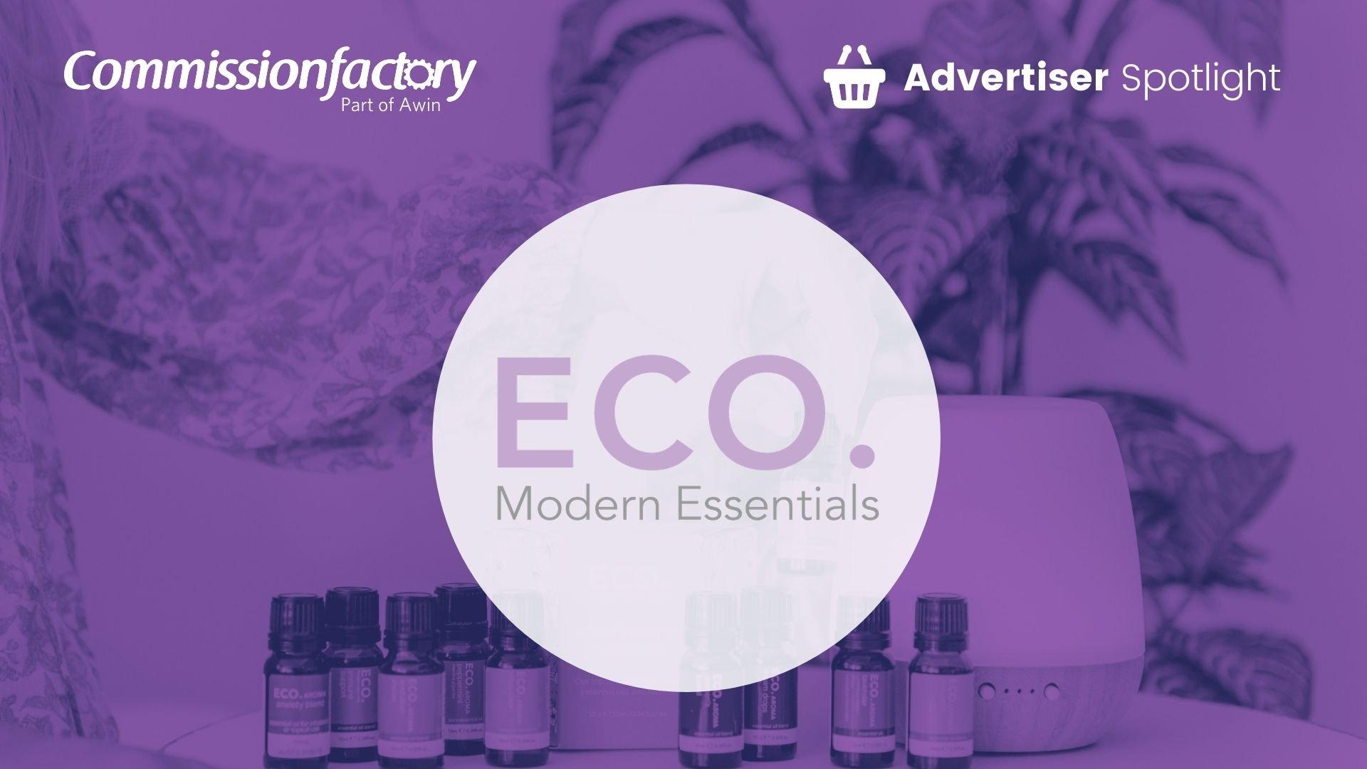 ECO Modern Essentials Blog Spotlight Template
