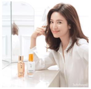 Actress Song Hye Kyo for Sulwhasoo